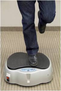 bosu and vibration single leg stance