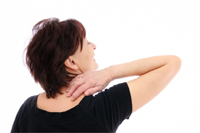 Headache pain from Neck Muscles