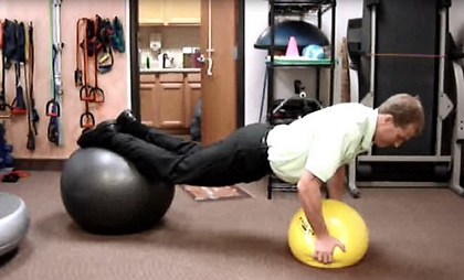Low Back exercise for Physical Therapy Chandler