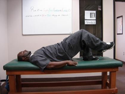 Chandler Chiropractic Therapy exercises for low back pain